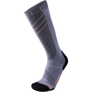 UYN Ski Superleggera Socks Dam silver/coral silver/coral