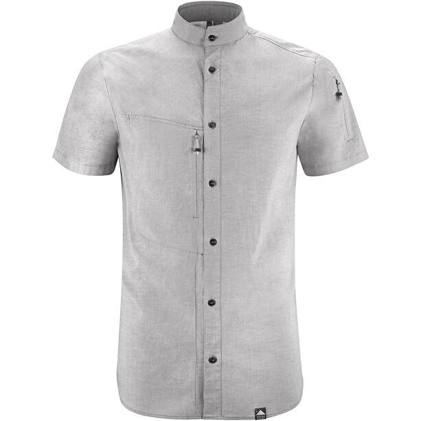Klättermusen Lofn SS Shirt Herr grey melange