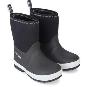 Tretorn Kuling Neoprene Rubber Boots Barn black/white black/white