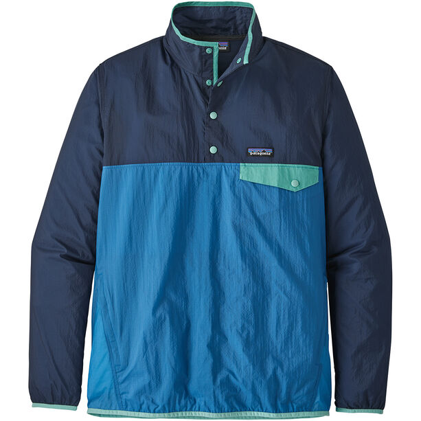 Patagonia Houdini Snap-T Pullover Herr port blue