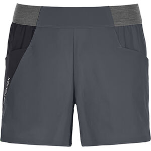 Ortovox Piz Selva Light Shorts Dam black steel black steel