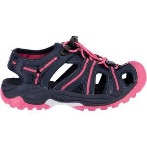 CMP Campagnolo Aquarii Hiking Sandals Barn black blue-corallo black blue-corallo