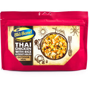 Bla Band Outdoor Meal Chicken with Rice and Vegetable