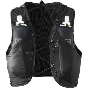 Salomon Adv Skin 5 Backpack Set Herr black black