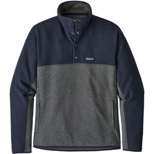 Patagonia LW Better Marsupial Sweater Pullover Herr Forge Grey/Navy Blue Forge Grey/Navy Blue