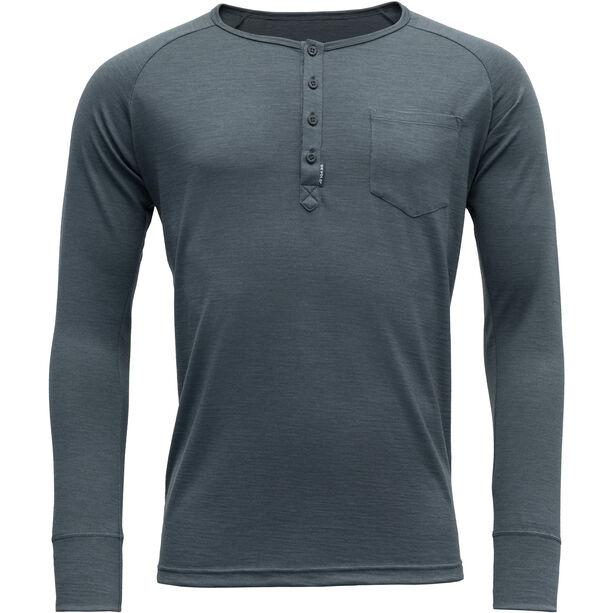Devold Hessa Button Shirt Herr turbulence