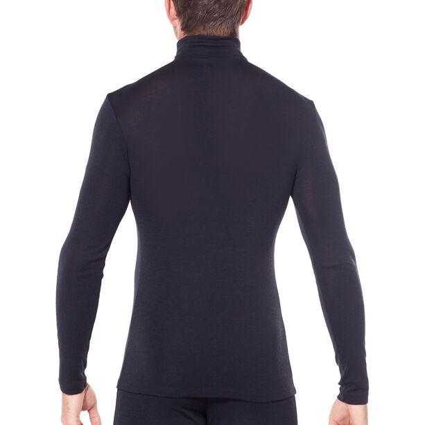 Icebreaker 175 Everyday LS Half Zip Shirt Herr black