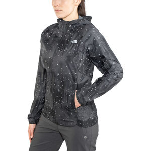 The North Face Stormy Trail Jacket Dam tnf black reflective firefly print tnf black reflective firefly print