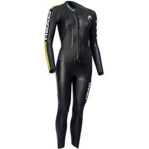 Head SwimRun Race Suit Dam black /gold black /gold