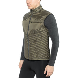 Craft Urban Run Body Warmer Herr dk olive/black dk olive/black