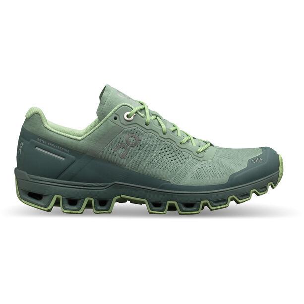 On Cloudventure Shoes Dam moss-olive