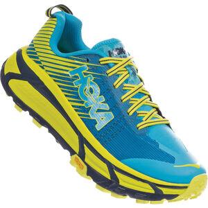 Hoka One One EVO Mafate 2 Running Shoes Herr Cyan/Citrus Cyan/Citrus