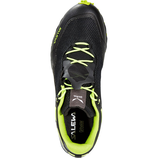 SALEWA Speed Beat GTX Shoes Herr black out/fluo yellow