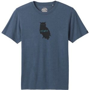 Prana Night Owl Journeyman T-Shirt Herr Denim Heather Denim Heather