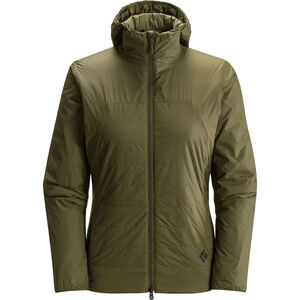 Black Diamond Access Hoody Jacket Dam burnt olive burnt olive