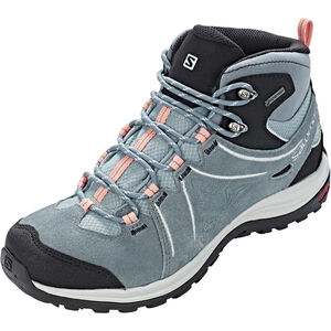 Salomon Ellipse 2 Mid LTR GTX Shoes Dam lead/stormy weather/coral almond lead/stormy weather/coral almond