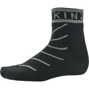 Sealskinz Super Thin Pro Ankle Socks with Hydrostop black/grey black/grey