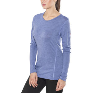 Devold Breeze Shirt Dam bluebell melange bluebell melange