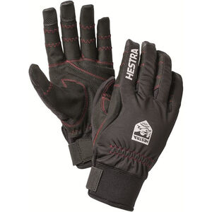 Hestra Ergo Grip Long Finger Gloves svart/svart svart/svart