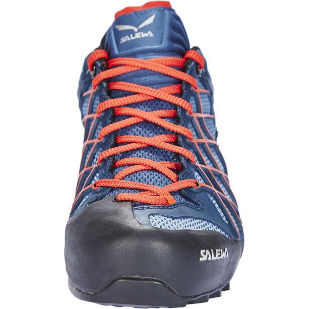 SALEWA Wildfire GTX Shoes Herr dark denim/papavero