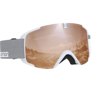 Salomon Xview Goggles white white