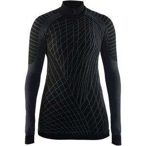 Craft Active Intensity Zip Shirt Dam black/granite black/granite