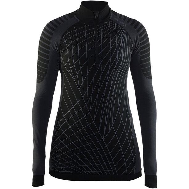Craft Active Intensity Zip Shirt Dam black/granite