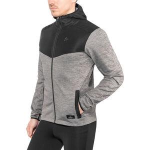 Craft Breakaway Jersey Hood Jacket Herr dk grey melange dk grey melange