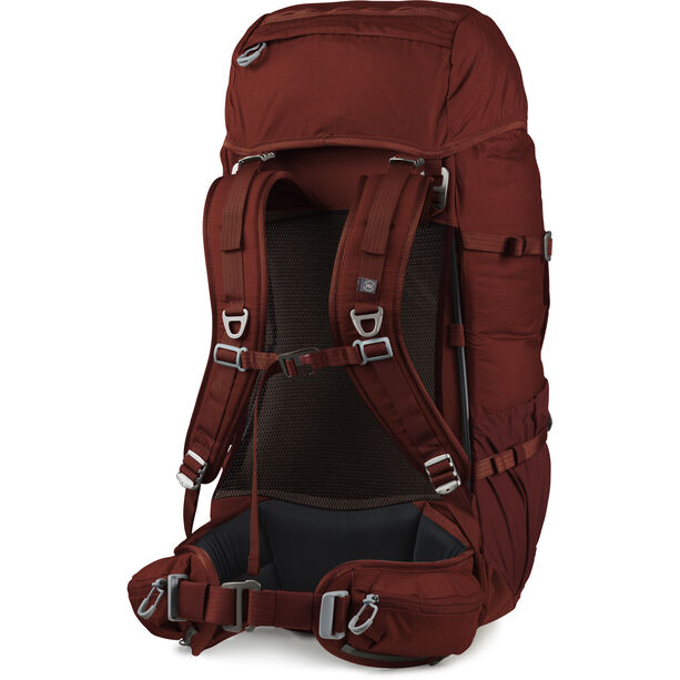 Lundhags Gneik 54 Backpack dark red