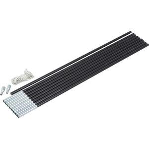 CAMPZ Glass Fibre Pole Set 9mm x 4,55m