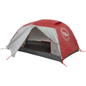 Big Agnes Copper Spur HV3 Expedition Tent red red