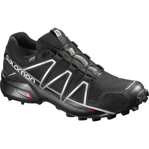 Salomon Speedcross 4 GTX Shoes Herr black/black/silver metallic-x black/black/silver metallic-x