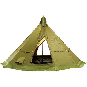 Helsport Finnmark 6-8 Outertent + Innertent with Floor + Pole green green