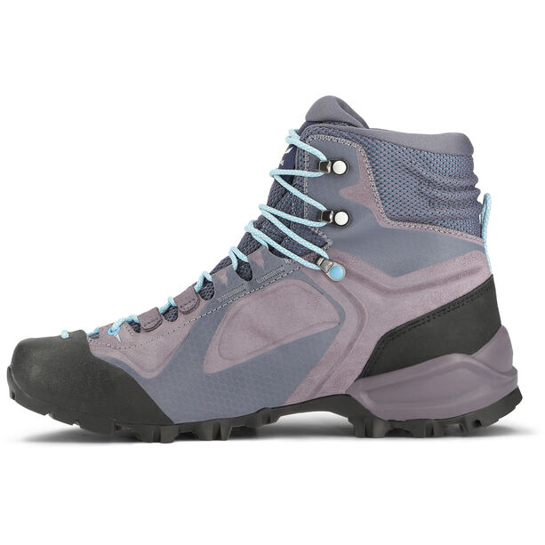 SALEWA Alpenviolet GTX Mid Shoes Dam grisaille/ethernal blue