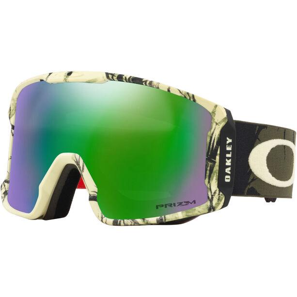Oakley Line Miner Snow Goggles Herr rokka army green/prizm snow jade iridium