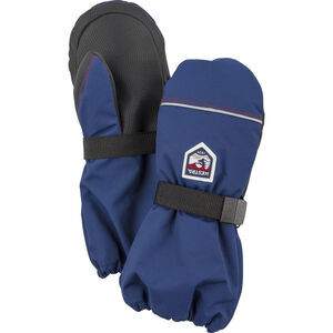 Hestra Wool Terry Mittens Barn medium blue medium blue