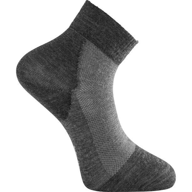 Woolpower Socks Skilled Liner Short dark grey/grey