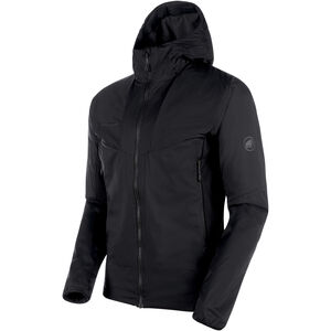 Mammut Rime Light IN Flex Hooded Jacket Herr black black