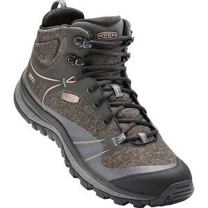 Keen Terradora WP Mid Shoes Dam raven/rose dawn raven/rose dawn
