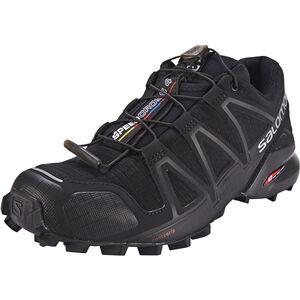 Salomon Speedcross 4 Shoes Dam black/black/black metallic black/black/black metallic