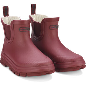 Tretorn Aktiv Chelsea Rubber Boots Barn maroon maroon