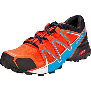 Salomon Speedcross Vario 2 Shoes Herr cherry tomato/black/fjord blue cherry tomato/black/fjord blue