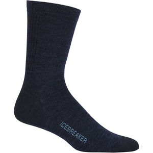 Icebreaker Lifestyle Ultra Light Crew Socks Herr Fathom Heather Fathom Heather