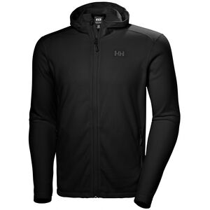 Helly Hansen Daybreaker Hooded Fleece Jacket Herr Black Black