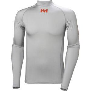 Helly Hansen Waterwear Rashguard Herr grey fog grey fog