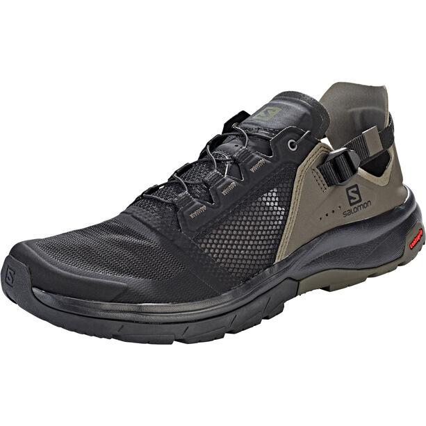 Salomon Techamphibian 4 Shoes Herr black/beluga/castor gray