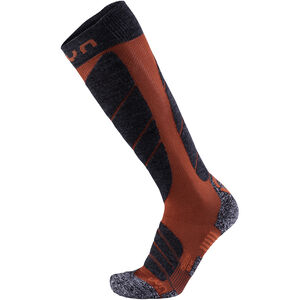 UYN Ski Magma Socks Herr dark red/anthracite dark red/anthracite