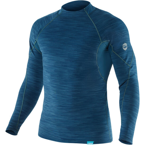 NRS HydroSkin 0.5 Long Sleeve Shirt Herr moroccan blue