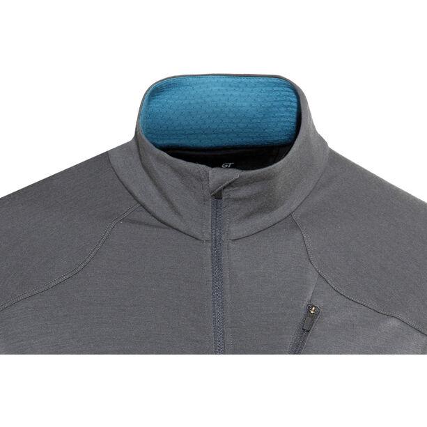 Icebreaker Fluid Zone LS Zip Shirt Herr monsoon/mediterranean