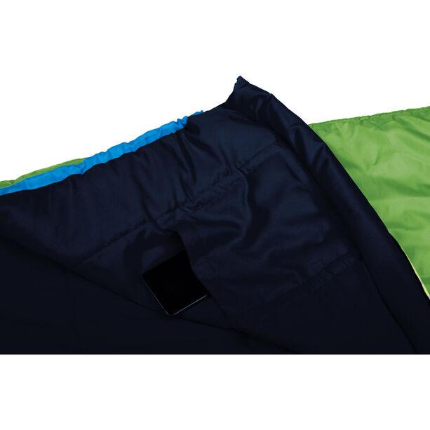 Grüezi-Bag Biopod Woll World Traveller Sleeping Bag Barn holly green